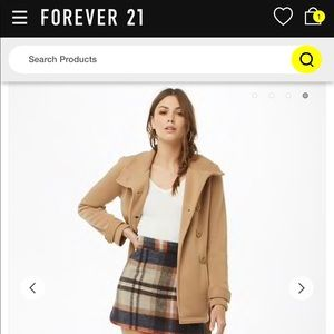 Forever 21 Jackets & Coats - Forever 21 peacoat with tie belt
